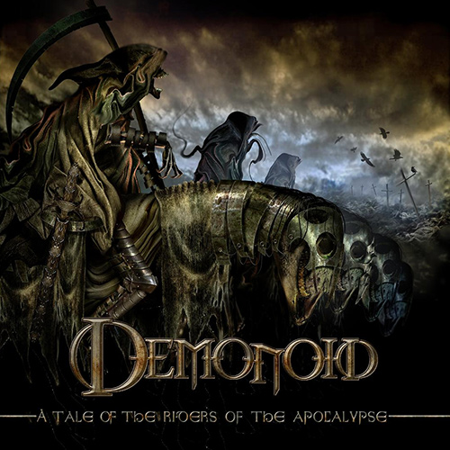 Demonoid - Riders Of The Apocalypse recenzja okładka review cover