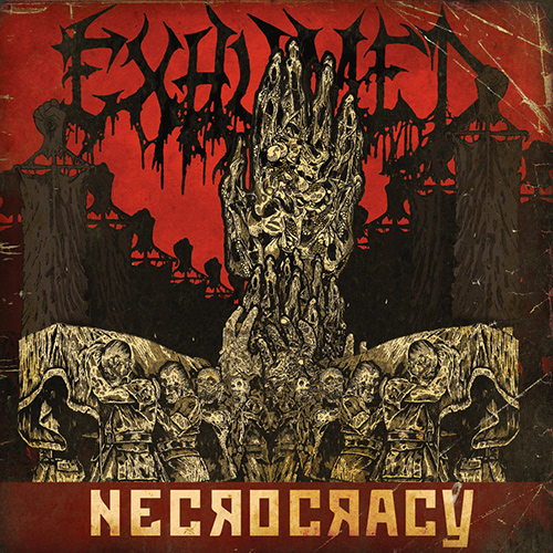 Exhumed - Necrocracy recenzja okładka review cover