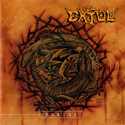 Extol - Burial recenzja okładka review cover