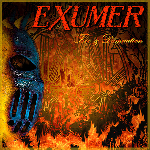 Exumer - Fire & Damnation recenzja okładka review cover