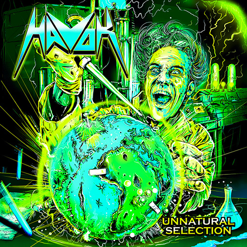 Havok - Unnatural Selection recenzja okładka review cover