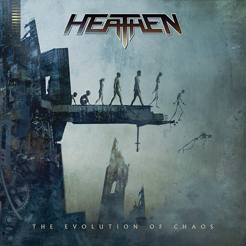 Heathen - The Evolution Of Chaos recenzja okładka review cover