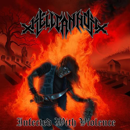 Hellcannon - Infected With Violence recenzja okładka review cover