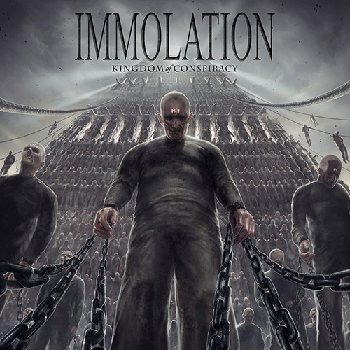 Immolation - Kingdom Of Conspiracy recenzja okładka review cover