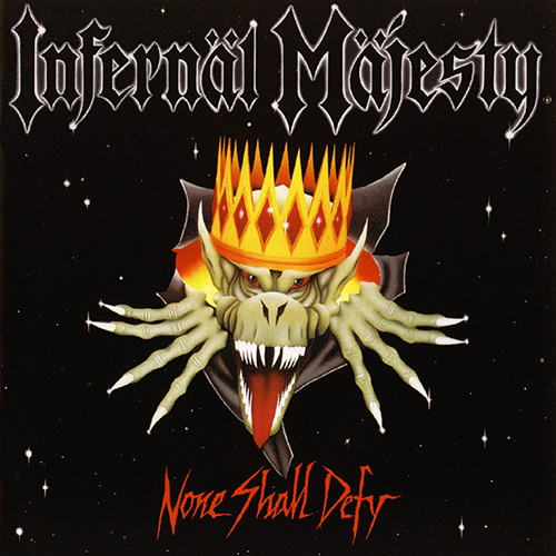 Infernäl Mäjesty - None Shall Defy recenzja okładka review cover