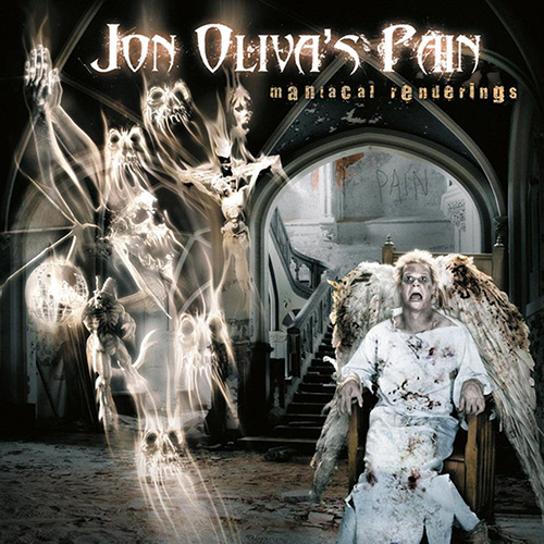 Jon Oliva's Pain - Maniacal Renderings recenzja okładka review cover