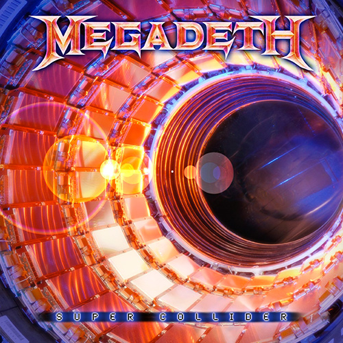 Megadeth - Super Collider recenzja okładka review cover
