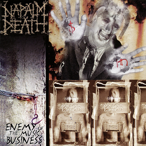 Napalm Death - Enemy Of The Music Business recenzja okładka review cover