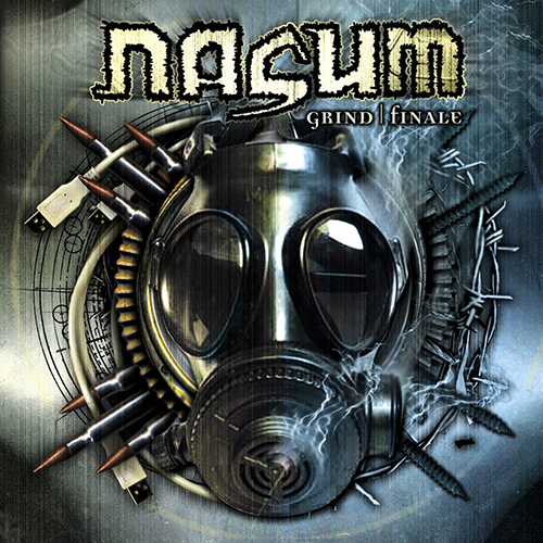 Nasum - Grind Finale recenzja okładka review cover