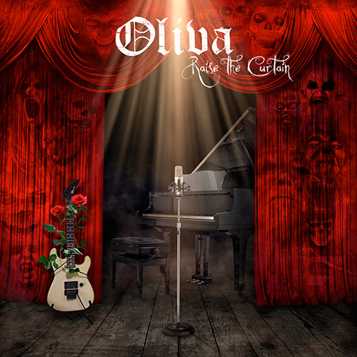 Oliva - Raise The Curtain recenzja okładka review cover