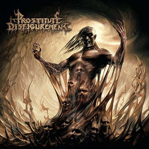 Prostitute Disfigurement - Descendants Of Depravity recenzja okładka review cover