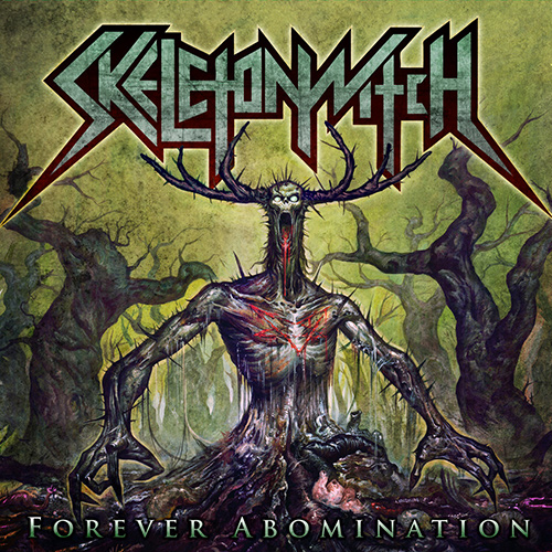 Skeletonwitch - Forever Abomination recenzja okładka review cover