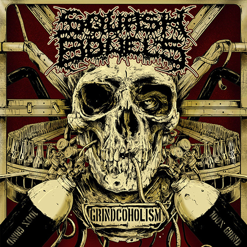 Squash Bowels - Grindcoholism recenzja okładka review cover