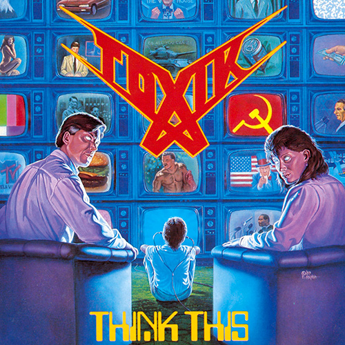 Toxik - Think This recenzja okładka review cover