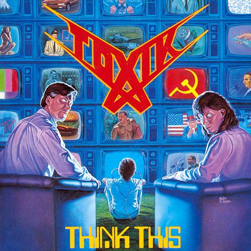 Toxik - Think This recenzja okładka review cover