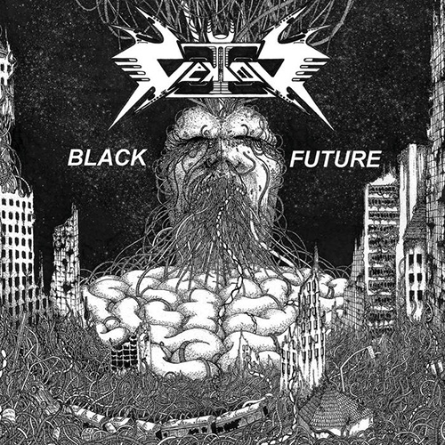 Vektor - Black Future recenzja okładka review cover