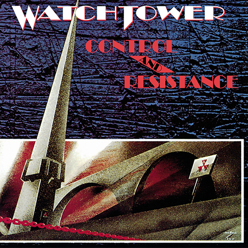 Watchtower - Control And Resistance recenzja okładka review cover
