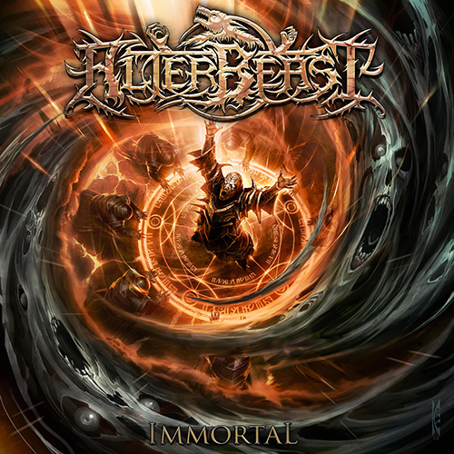 Alterbeast - Immortal recenzja okładka review cover