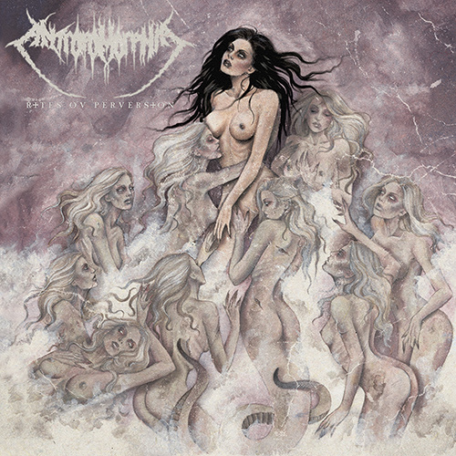 Antropomorphia - Rites Ov Perversion recenzja okładka review cover