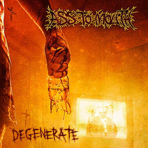 Ass To Mouth - Degenerate recenzja okładka review cover