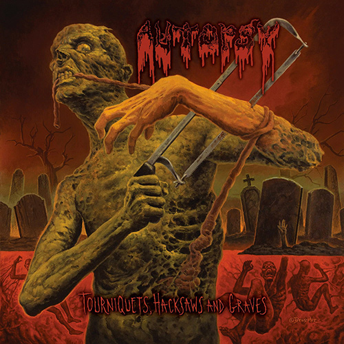 Autopsy - Tourniquets, Hacksaws And Graves recenzja okładka review cover