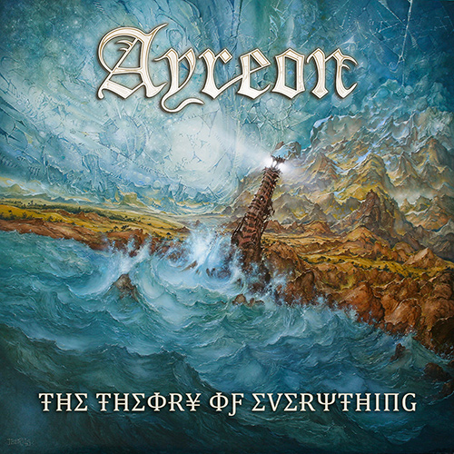 Ayreon - The Theory of Everything recenzja okładka review cover