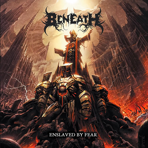 Beneath - Enslaved By Fear recenzja okładka review cover