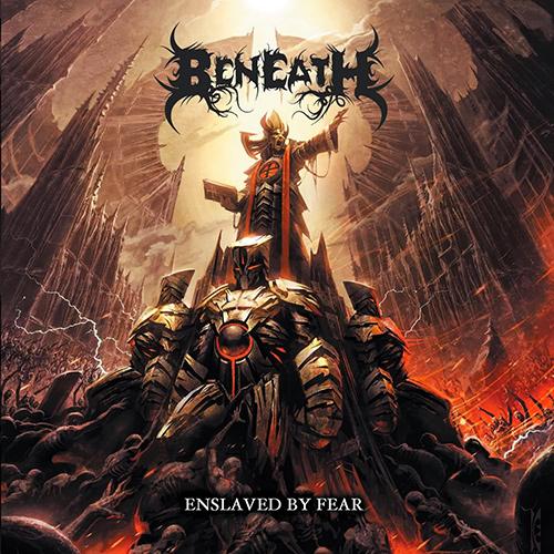 Beneath - Enslaved By Fear recenzja okładka review cover