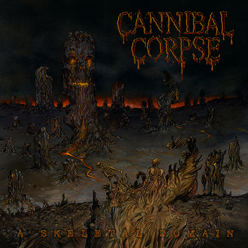 Cannibal Corpse - A Skeletal Domain recenzja okładka review cover