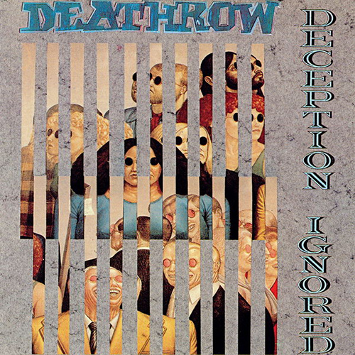 Deathrow – Deception Ignored recenzja okładka review cover
