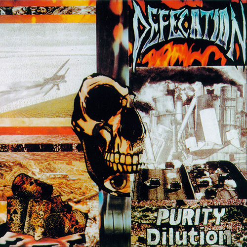 Defecation - Purity Dilution recenzja okładka review cover