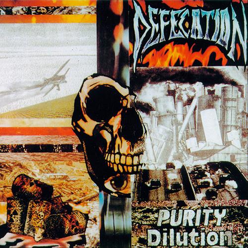 Defecation - Purity Dilution recenzja okładka review cover