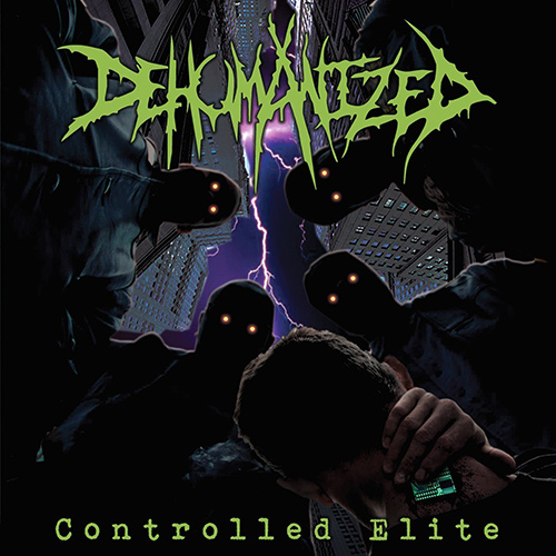 Dehumanized - Controlled Elite recenzja okładka review cover