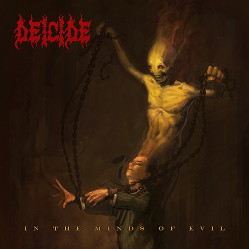 Deicide - In The Minds Of Evil recenzja okładka review cover