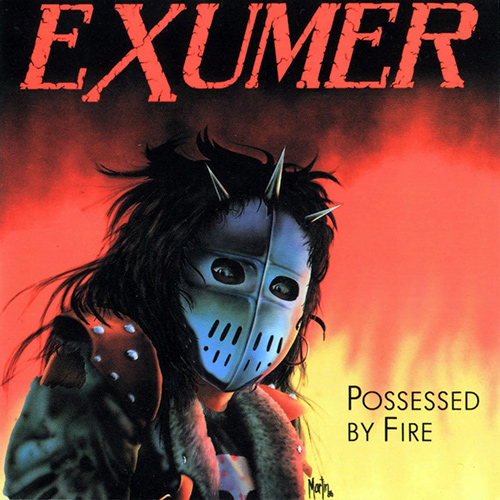 Exumer - Possessed By Fire recenzja okładka review cover
