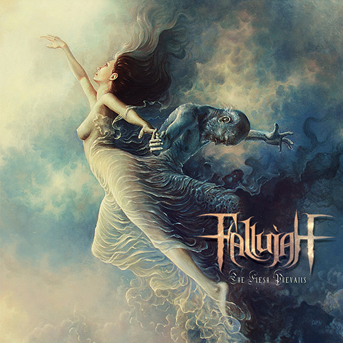 Fallujah - The Flesh Prevails recenzja okładka review cover