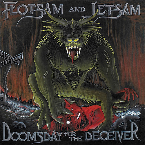 Flotsam And Jetsam - Doomsday For The Deceiver recenzja okładka review cover