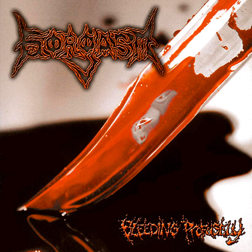 Gorgasm - Bleeding Profusely recenzja okładka review cover