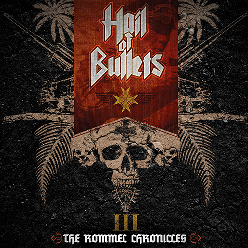 Hail Of Bullets - III: The Rommel Chronicles recenzja okładka review cover