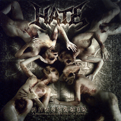 Hate - Anaclasis - A Haunting Gospel Of Malice & Hatred recenzja okładka review cover
