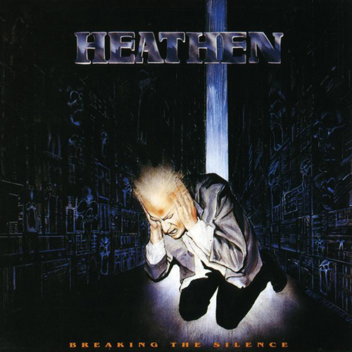 Heathen - Breaking the Silence recenzja okładka review cover