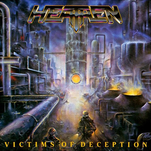 Heathen - Victims Of Deception recenzja okładka review cover