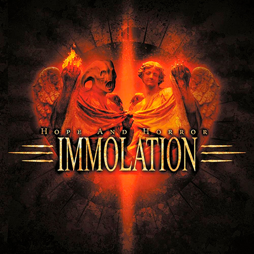 Immolation - Hope And Horror recenzja okładka review cover