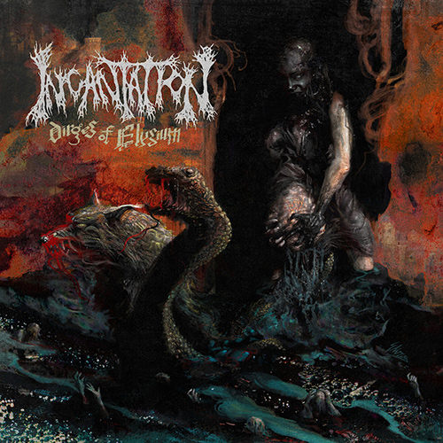 Incantation - Dirges Of Elysium recenzja okładka review cover