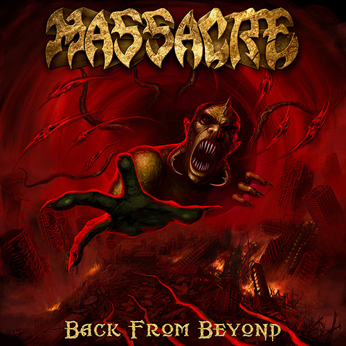 Massacre - Back From Beyond recenzja okładka review cover