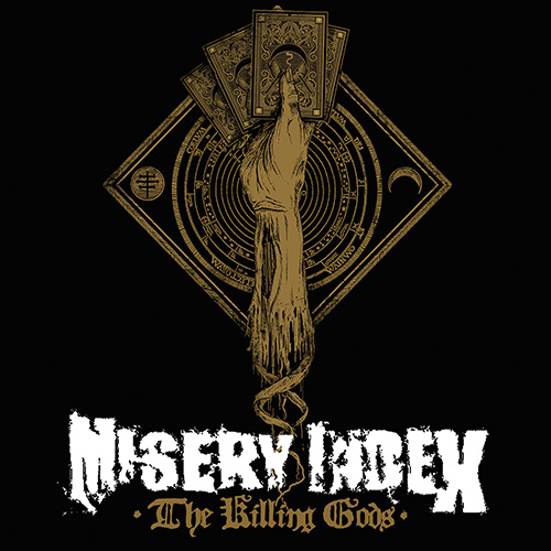 Misery Index - The Killing Gods recenzja okładka review cover