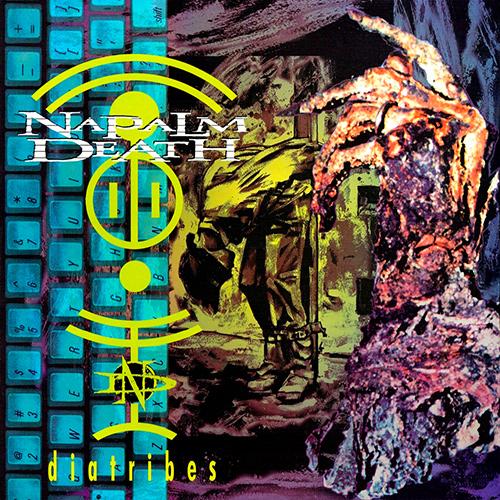 Napalm Death - Diatribes recenzja okładka review cover