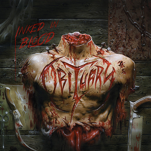 Obituary - Inked In Blood recenzja okładka review cover