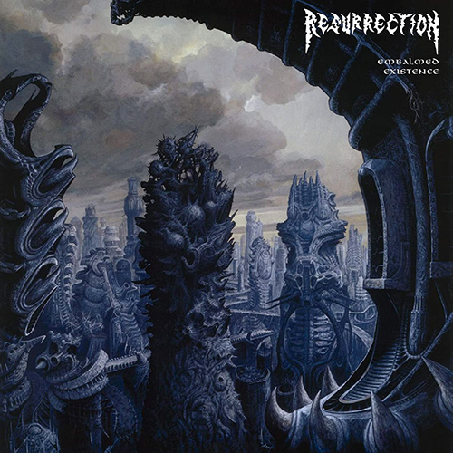 Resurrection - Embalmed Existence recenzja okładka review cover