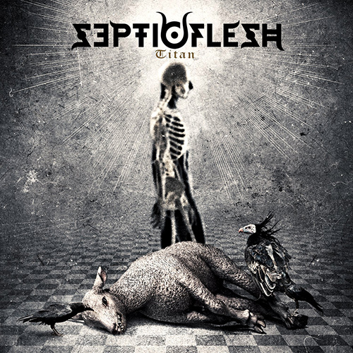 Septicflesh - Titan recenzja okładka review cover
